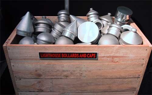 Bollard Caps Lighthouse Bollards