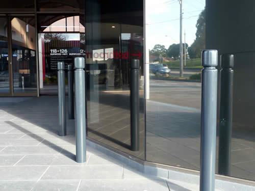 New Bollard with 80-series Cap