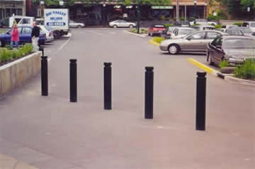 Fixed access control bollards