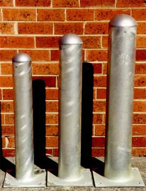 Industrial bollards - available in several sizes