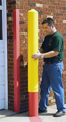 Plastic Bollard Sleeves Lighthouse Bollards