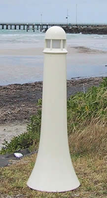 Tapered Light Bollard